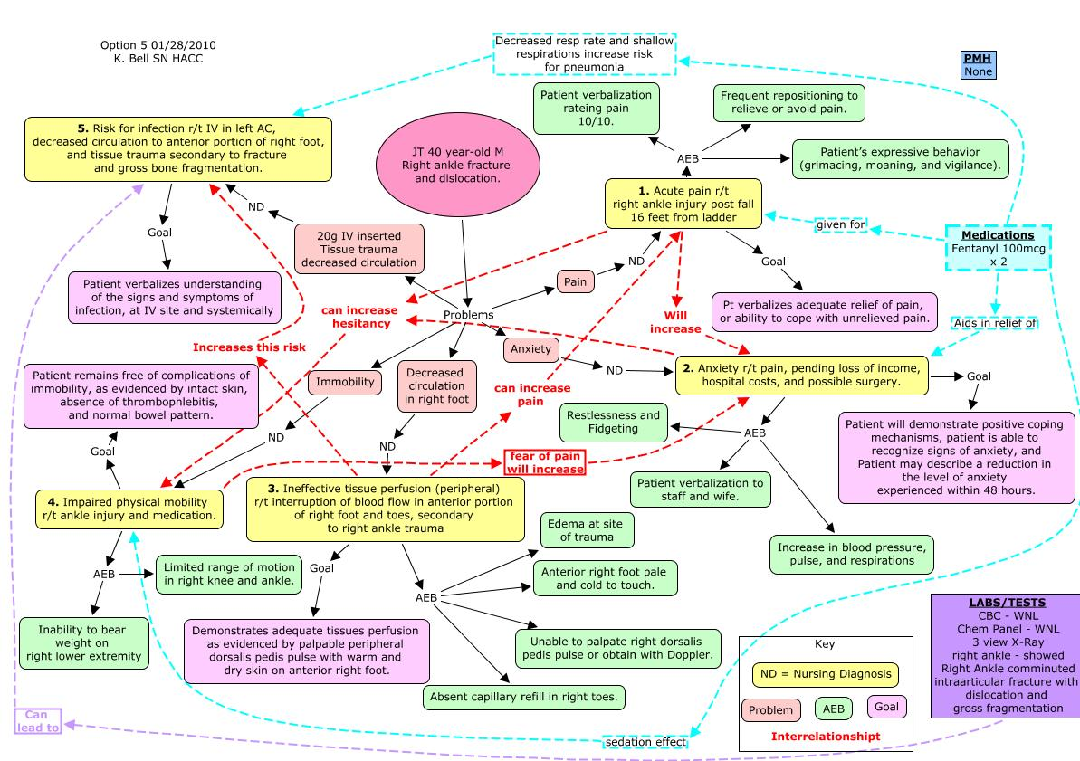 concept care map Deanne a blach msn, rn has been teaching and using concept maps for 15 years concept maps are explored as a tool to replace nursing care-plans in the.